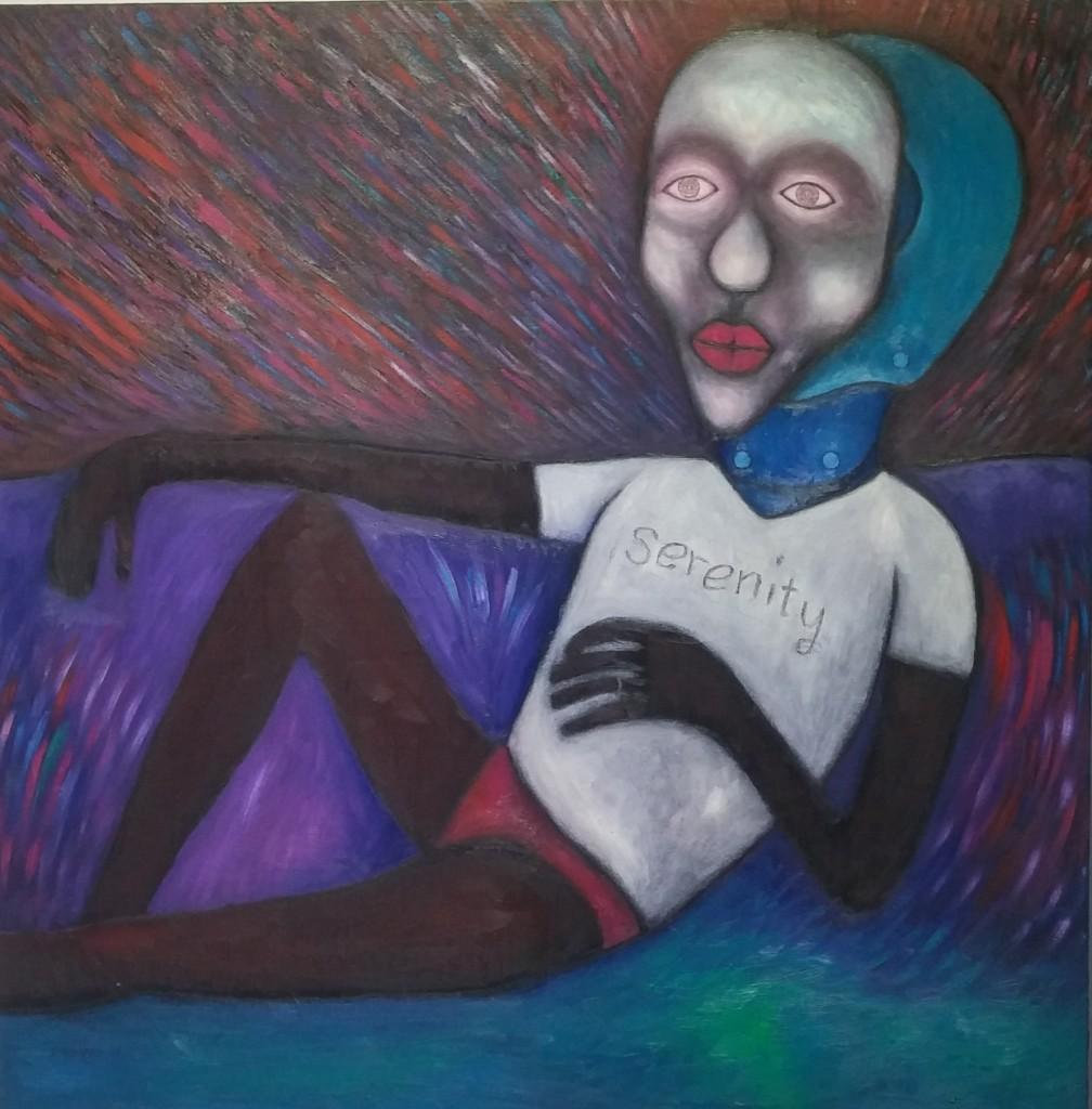 케냐 리차드 키마시의 그림