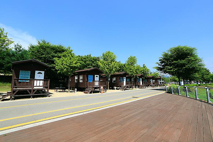 오토캠핑장 전경