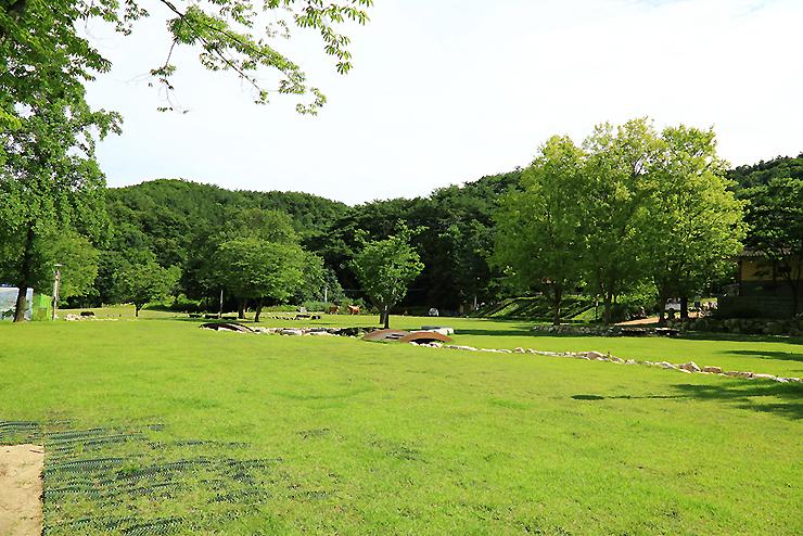 용문산 캠핑장