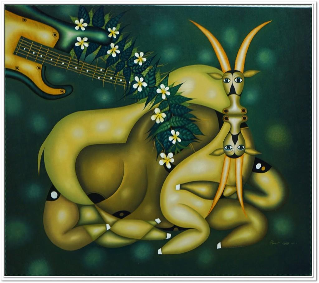 피터 웅구기의 그림