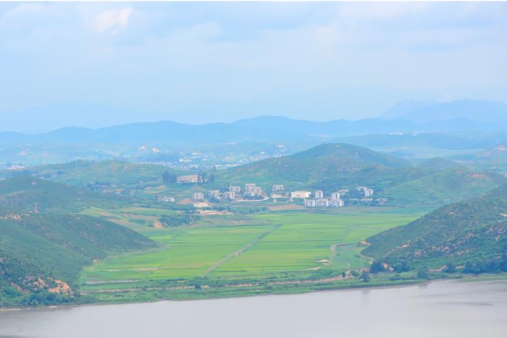 북한쪽 풍경