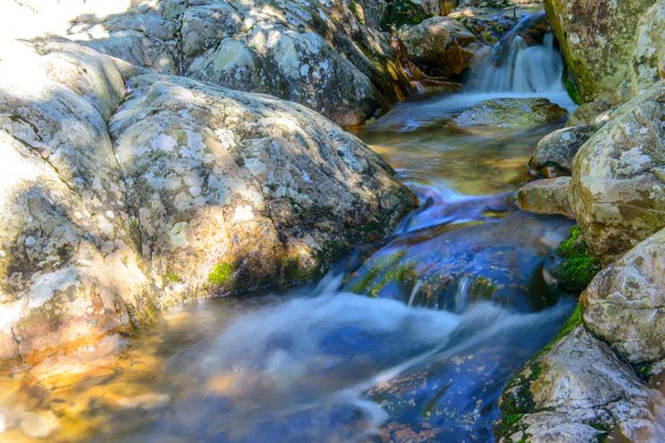 물이 흐르는 계곡