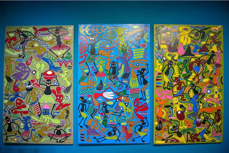 아프리카 미술 그림