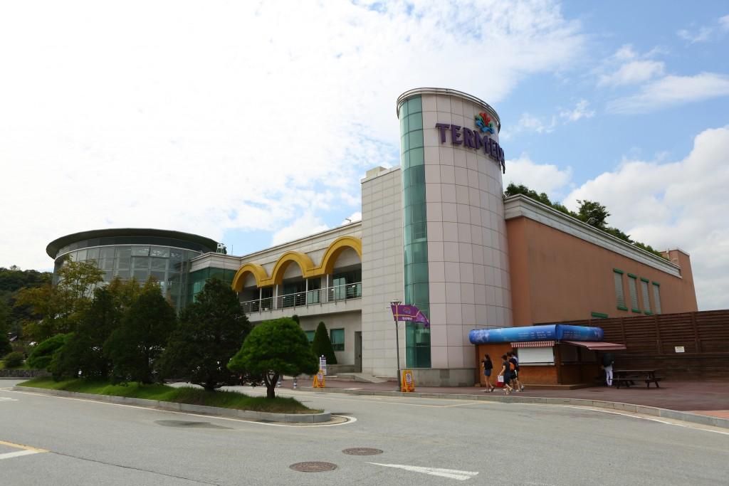 이천 테르메덴 건물 모습