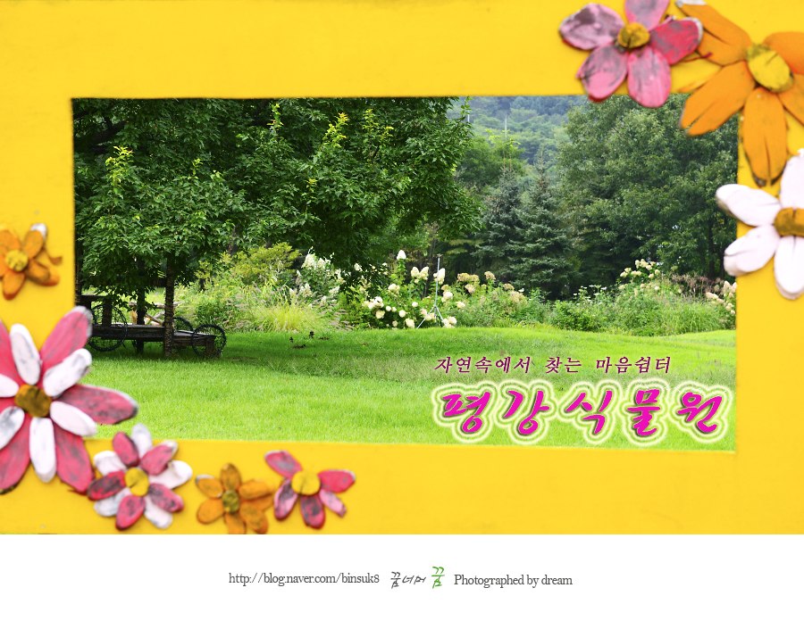 2016.9.7포천 평강식물원