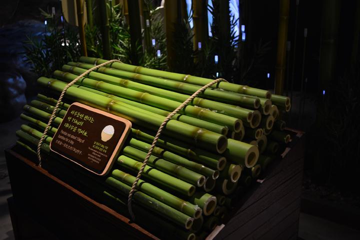 대나무 섭취량