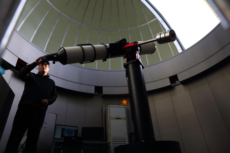 안성맞춤 천문과학관의 250mm 굴절망원경