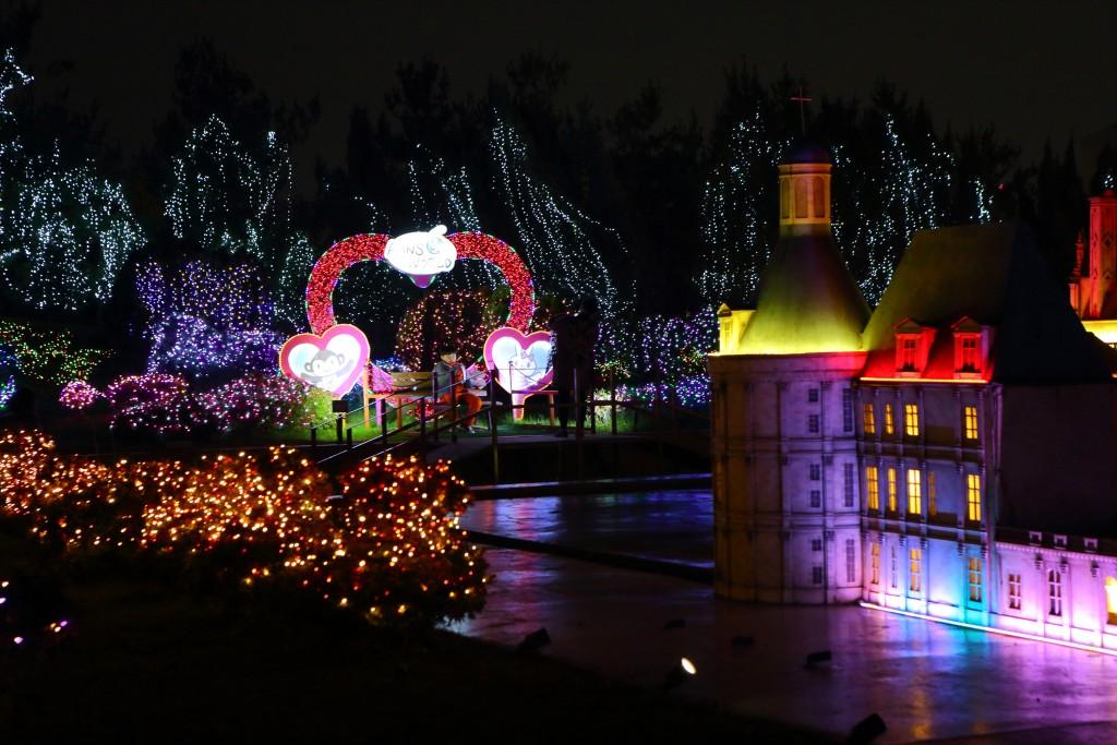 부천 세계야경 판타지 빛축제 야경 모습