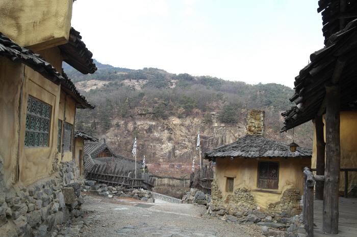구리 고구려대장간마을의 모습