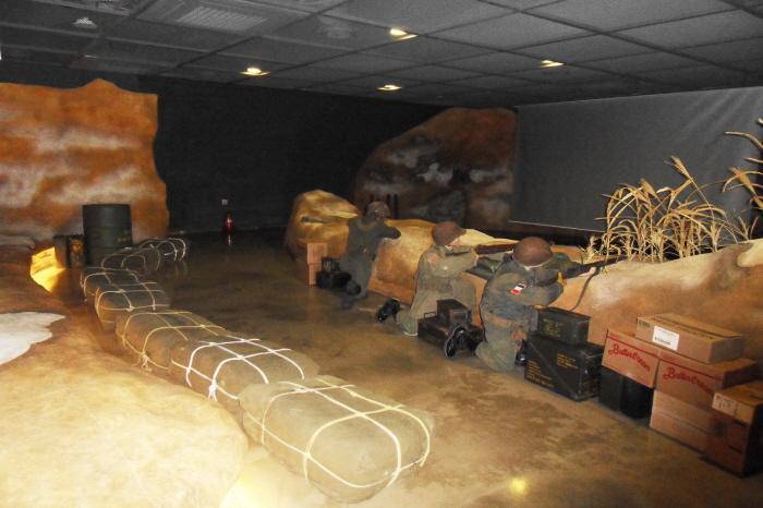 3D체험관에서 보는 전투모습