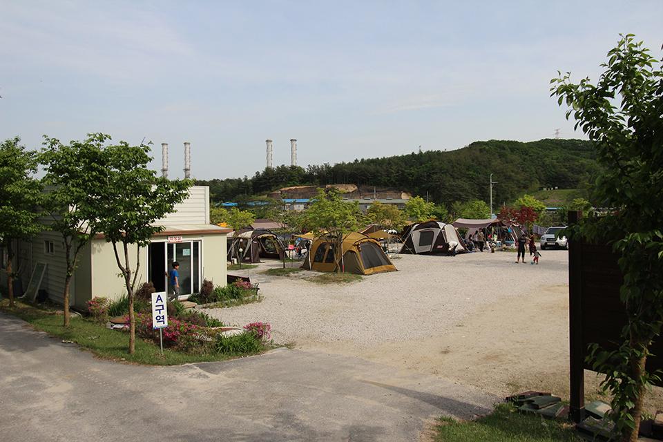 가래골농원 캠핑장