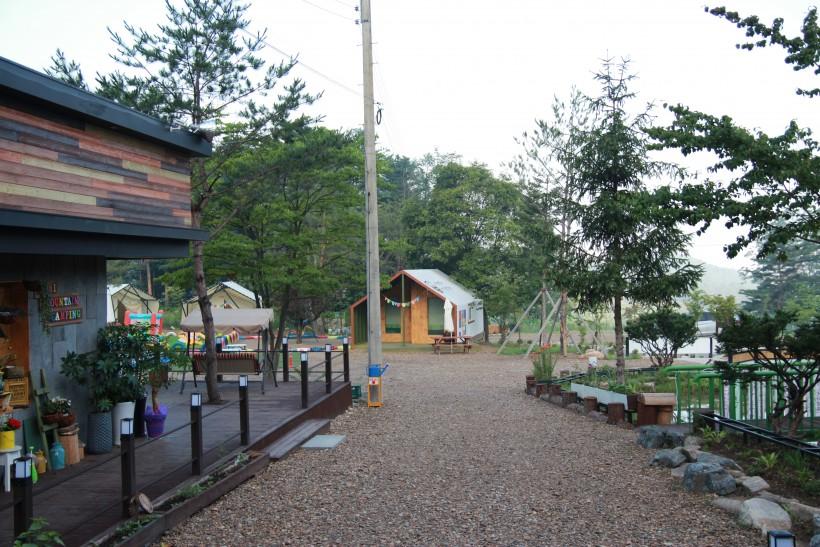 보리산 캠핑장