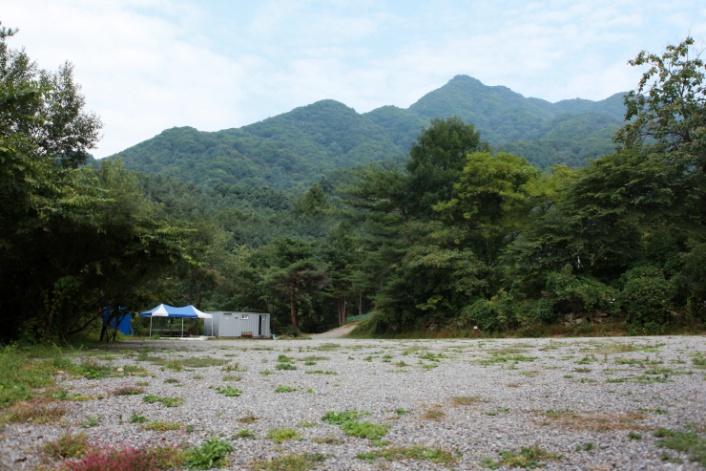 산으로간 니모 캠핑장