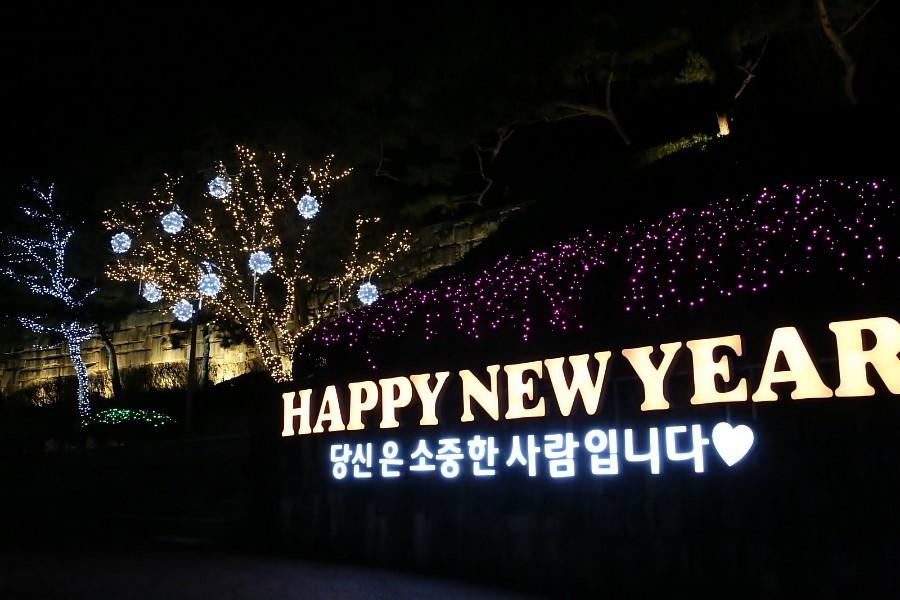 HAPPY NEW YEAR 당신은 소중한 사람입니다