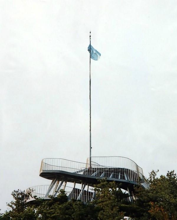 바람에 날리는 깃발
