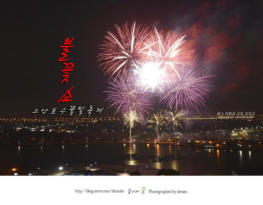 고양호수불꽃빛축제 불꽃쇼