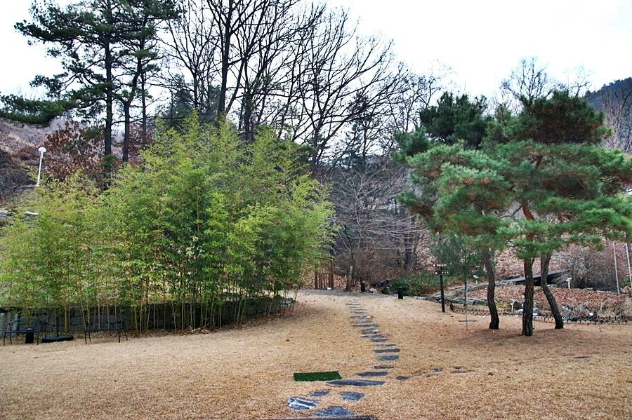 조각공원의 산책로