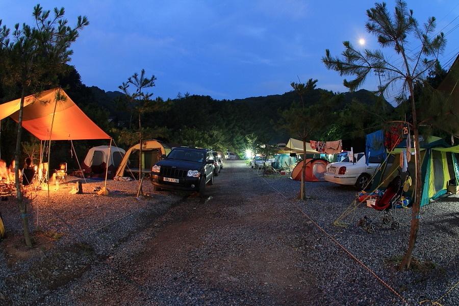가평설악 하늘계곡 캠핑장1