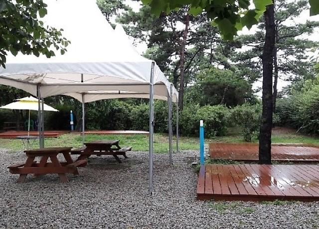 해솔길 캠핑장
