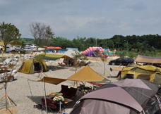 흙의 사랑 캠핑장1