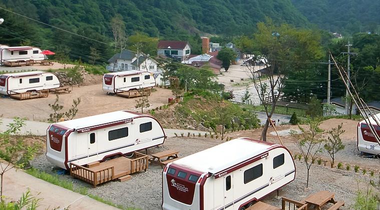명지산카라반오토캠핑장
