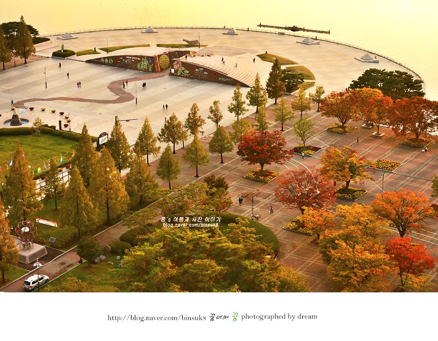 일산 호수공원 한울 광장