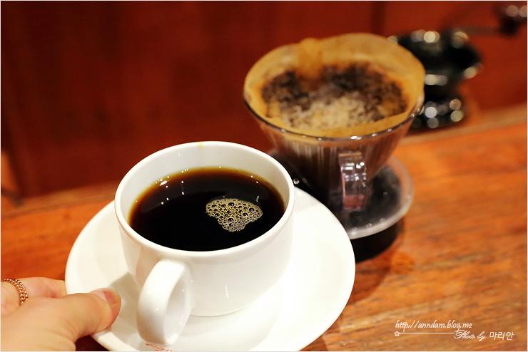 드립한 커피