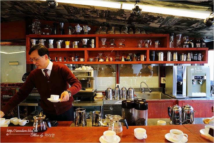 카페의 모습