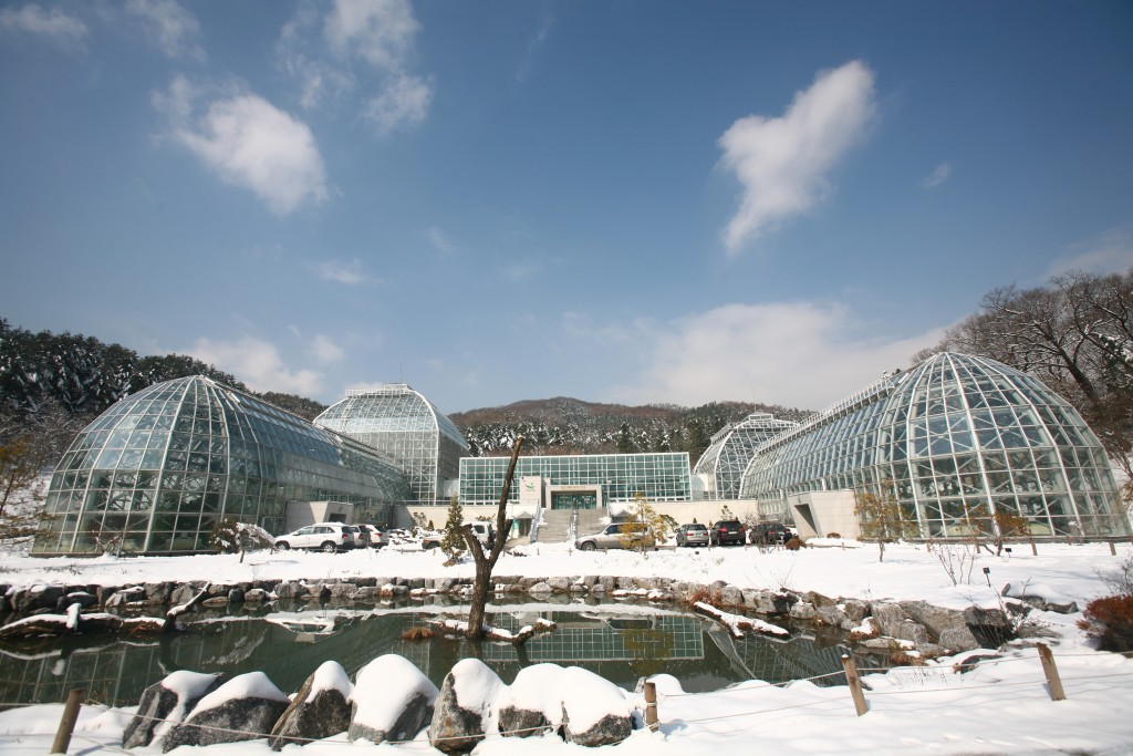 국립수목원 열대식물자원연구센터 모습