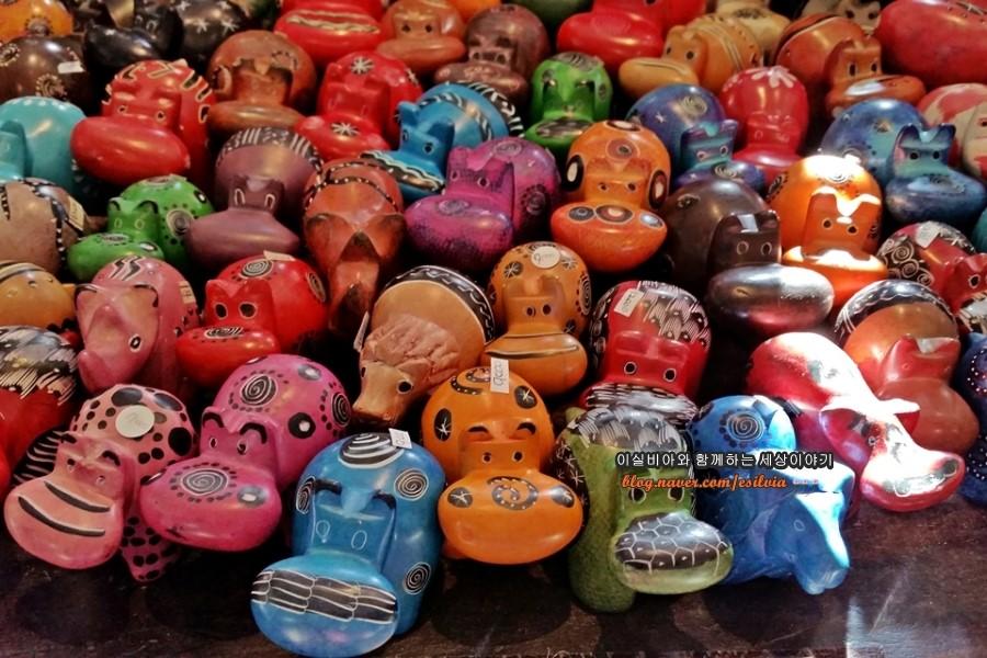 아프리카 작은 소품 공예품