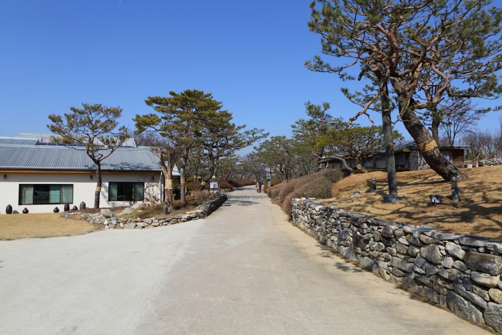 안성 서일농원의 전경