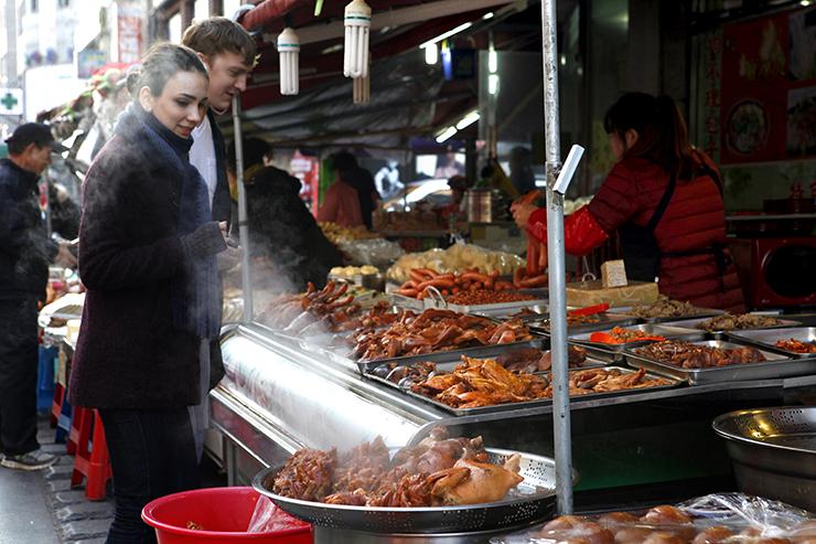 안산 다문화음식거리