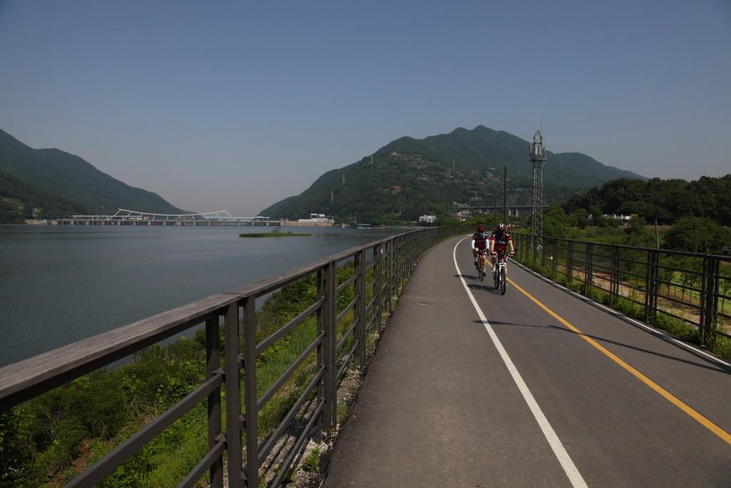 북한강이 보이는 남양주자전거길