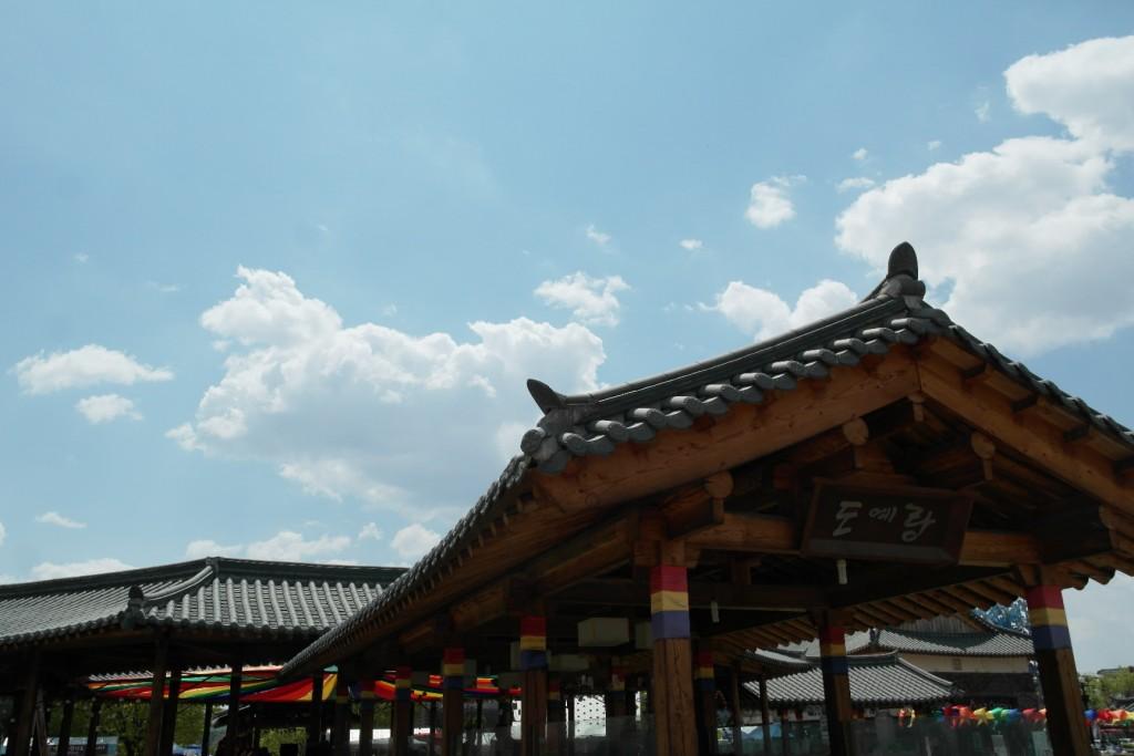 신륵사관광지 모습
