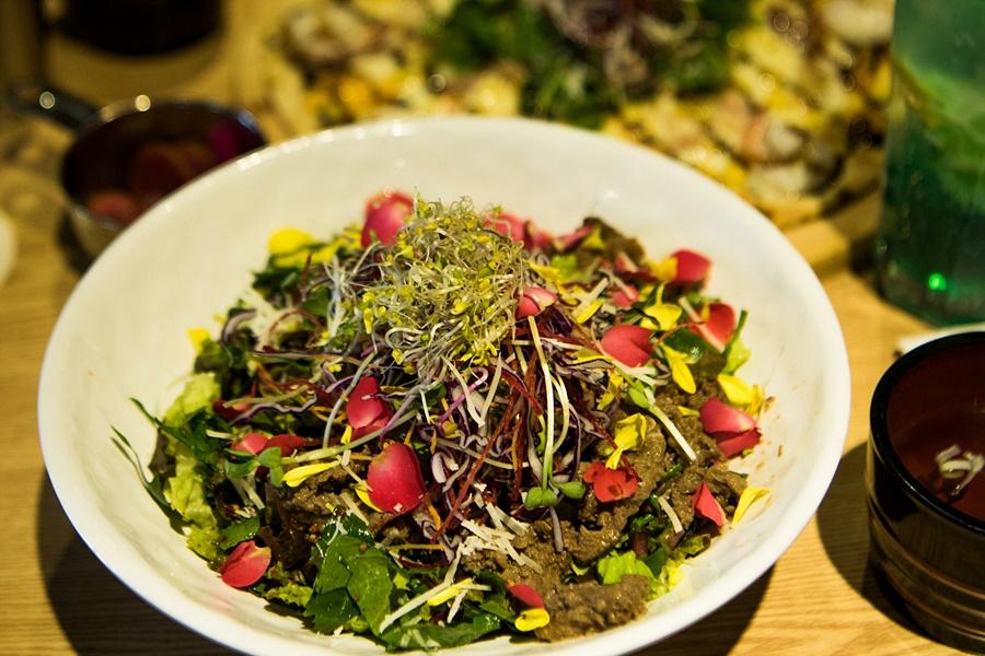 꽃허브 비빔밥