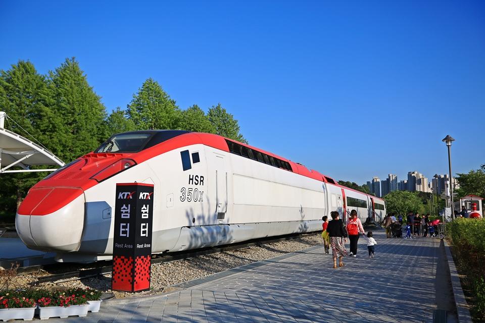 철도박물관의 HSR 열차