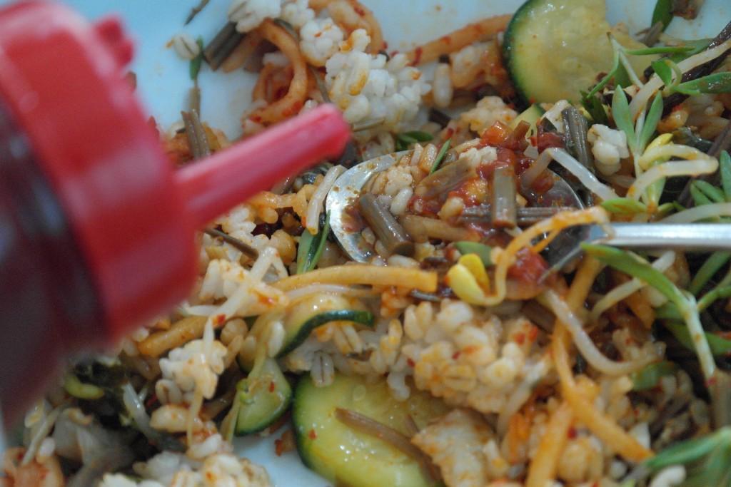 비빈 보리밥