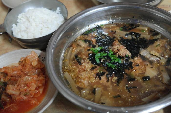 도토리 묵밥