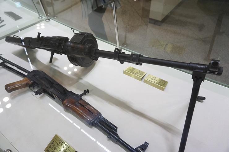 당시 사용했던 총