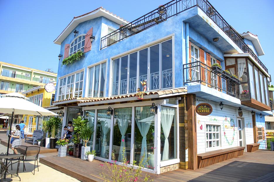 프로방스 마을 카페전경