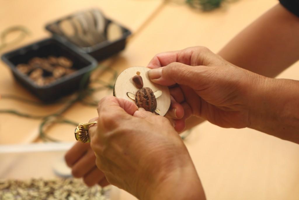 곤충화석 만들기 체험