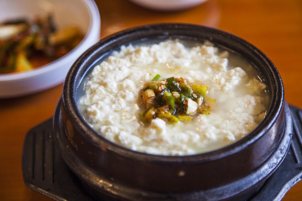 두물머리밥상의 순두부찌개