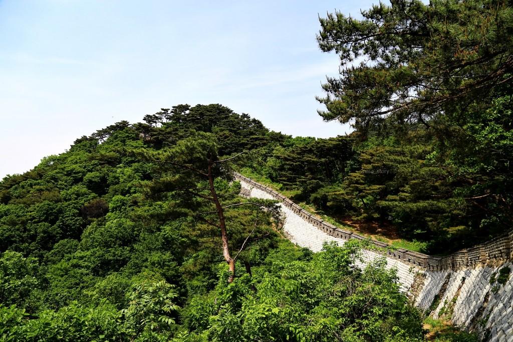 남한산성 전경