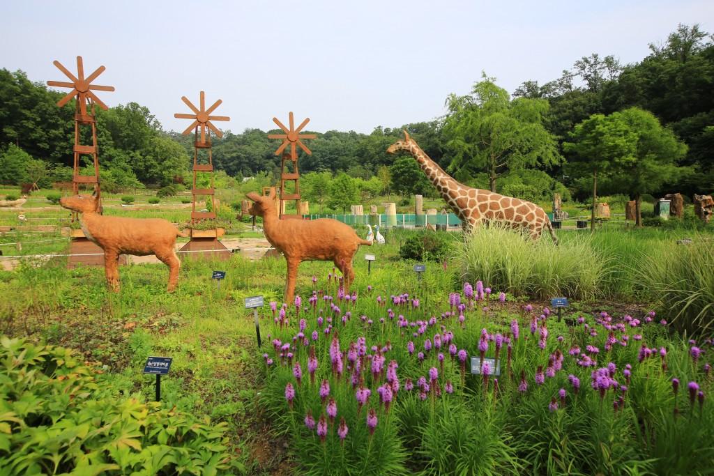 여러 동물들 모형