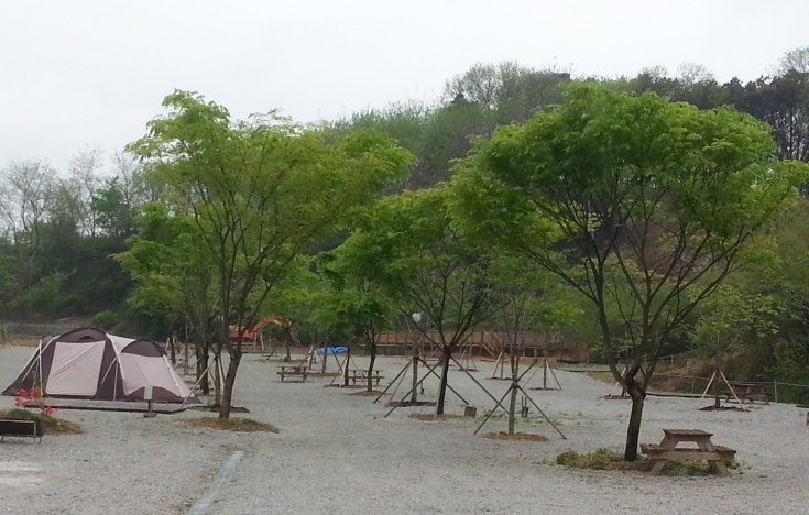 율곡관광농원 캠핑장