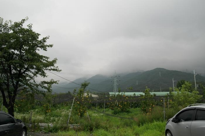 예봉산이 보이는 풍경