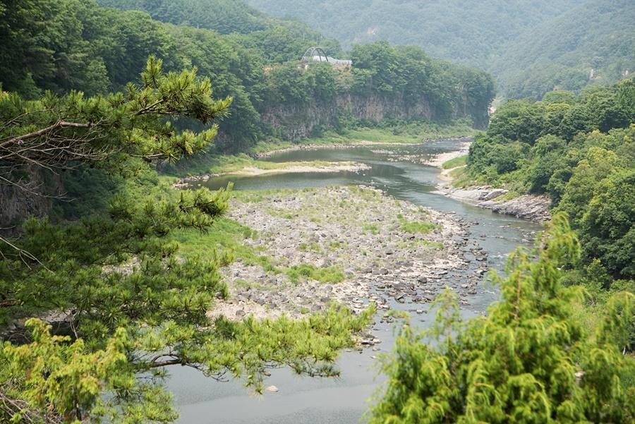 한탄강의 모습