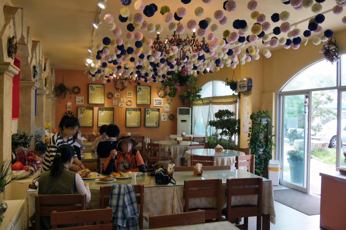 식당내부 풍경
