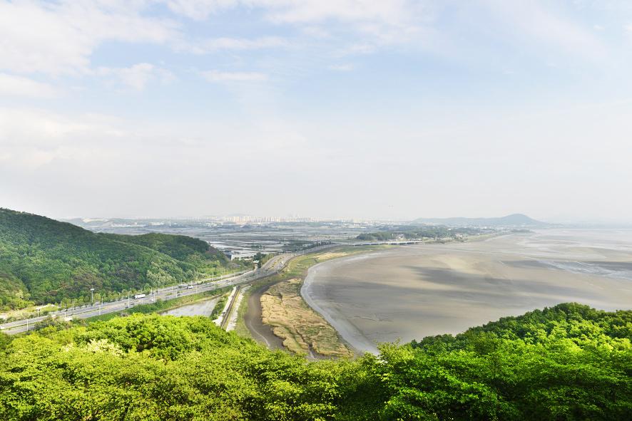 한강과 임진강이 만나는 풍경