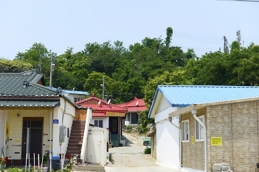 국화도 섬 마을 풍경